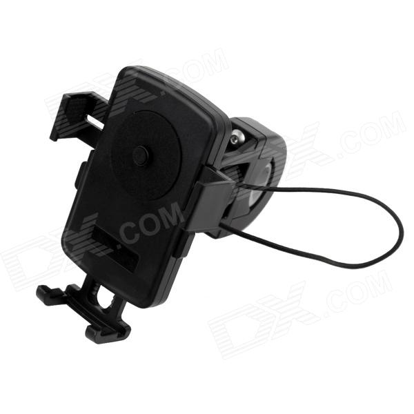 Navigator / GPS / Cellphone Support Mount Holder for Motorcycle / Bicycle - Black
