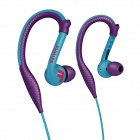 Philips SHQ3200PP ActionFit Sports Earhook Headphones Purpel
