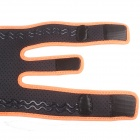 ShuoXin SX617 Adjustable Sports Knee Support Brace Wrap Protector Pad Sleeve - Orange + Black