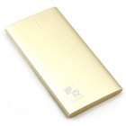 Buccker T16 5V 4200mAh Li-ion Polymer Power Bank for Cellphone / IPAD / PSP - Golden