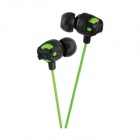 JVC HA-FR201-G Xtreme Xplosives Inner-Ear Headphones with Remote and Mic - Green