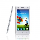 "V45 Android 4.2 Quad-Core WCDMA Smartphone w/ 4.5"" IPS, Wi-Fi and GPS - White"