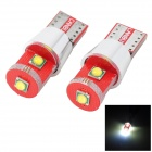 Marsing T10 9W CREE 800LM 7000K Cool White Light Canbus LED Decoding Width / Reading Lamp (2PCS/12V)