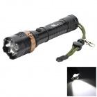 Pange 5-Mode Rotate Zooming 700LM Cool White 400M Range Tactical LED Flashlight (1 x 18650)