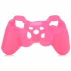 Glow-in-the-Dark Protective Silicone Case for PS3 / PS3 Slim Controller - Deep Pink