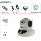 "Eye Sight  ES-IP901IW 1/4"" CMOS 1.0MP Indoor IP Camera w/ 12-IR-LED / Wi-Fi / TF - White + Black"