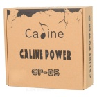 Caline CP-05 multifunksjonelle Power Supply Adapter for gitar effekt pedaler - svart (EU Plug)