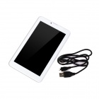 "ICOO D70G2 7"" TFT dual-core android 4,2 3G Tablet PC w / 4GB rom, to kameraer, wi-fi, TF - hvit"