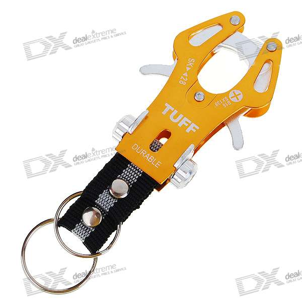 Aluminum Alloy Keychain - Large (Color Assorted)