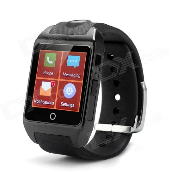 "inWatch z Android 4.2 Dual-core Watch Phone w/ 1.63"" Screen, Wi-Fi, GPS, RAM 1GB, ROM 8GB - Black"