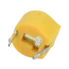 40Pf 6mm Plastic Variable / Adjustable Capacitors - Yellow (10 PCS)