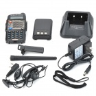 "BAOFENG UV-5D 1.5 ""LCD 5W 136 ~ 174MHz / 400 ~ 520MHz Dual Band Walkie Talkie w / 1-lanterna LED"