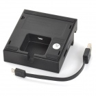 ABS Magnetic Charging Dock Station w/ USB Interface for Sony Xperia Tablet Z2 - Black