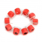 20Pf 6mm Plastic Variable / Adjustable Capacitors - Red (10 PCS)