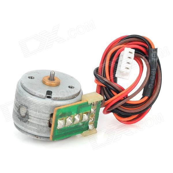 15BY45-22 DIY 7.2V 30ohm Stepper Motor - Silver