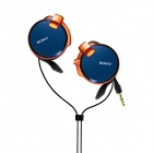 Genuine Sony MDR-Q38LW Street Style Headphones - Navy Blue (2 PCS)
