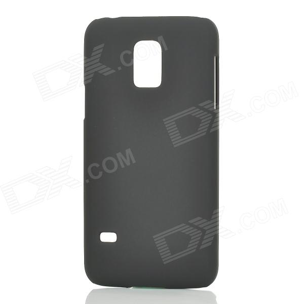 Protective Plastic Back Case Cover for Samsung Galaxy S5 Mini - Black