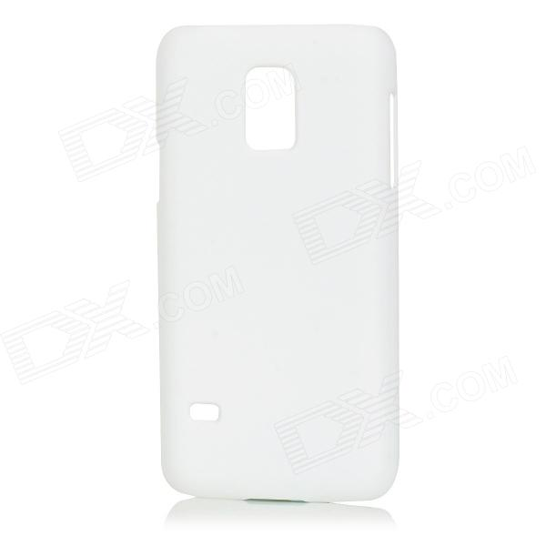 Protective Plastic Back Case Cover for Samsung Galaxy S5 Mini - White