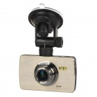 GT600 1/4'' CMOS 5.0MP 2.7'' TFT 1080P Night Vision 170' Wide Angle G-sensor Suction Cup Car DVR