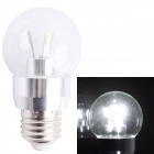 SS7-G50C E27 2W 145lm 6000K 24-SMD 3014 LED White Light Bulb - White (AC 220V)