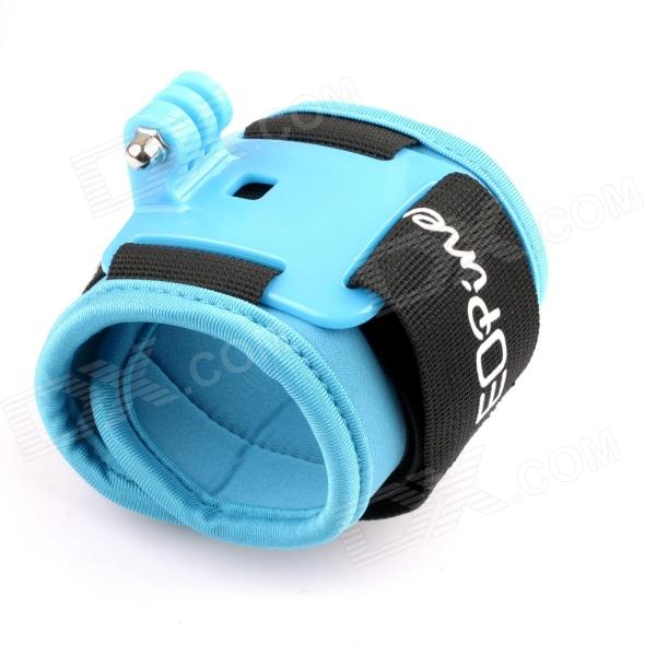 NEOpine G-477BB Neoprene Wrist Strap Mount w/ Hinge + Screw for Gopro Hero 4/ 3+ / 3 / 2 / 1 - Blue auto fuel filter 163 477 0201 163 477 0701 for mercedes benz