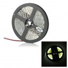 JRLED 24W 2300lm 6500K 600-SMD 3528 LED White Light Strip - White + Black (DC 12V / 5m)