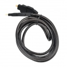 4-in-1 HDMI V2.0 Micro HDMI Male to Mini HDMI Male Converting Video Cable - Black (2m)