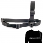 NEOpine G-547B Stylish Chest Strap Belt / Shoulder Harness Mount for GoPro HERO 3+ / 3 / 2 - Black