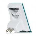 WD-R601U Wireless Networking Signal Amplifier Wi-Fi Repeater - White + Green