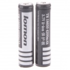 Lomon A-LV5 3.7V 1800mAh Rechargeable 18650 Li-ion Battery (2PCS)