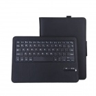 Bluetooth V3.0 Wireless Keyboard w/ PU Leather Case for Samsung GALAXY Tab S 10.5 T800 - Black