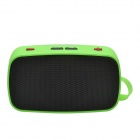 CHEERLINK KB-200 Mini Wireless Bluetooth V2.0 Speaker w/ Hands-free / FM / TF / USB / 3.5mm - Green