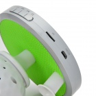 HMG6815 Golf Style Bluetooth V3.0 + EDR Rechargeable Wireless Speaker w/ Mic. / TF - White + Green