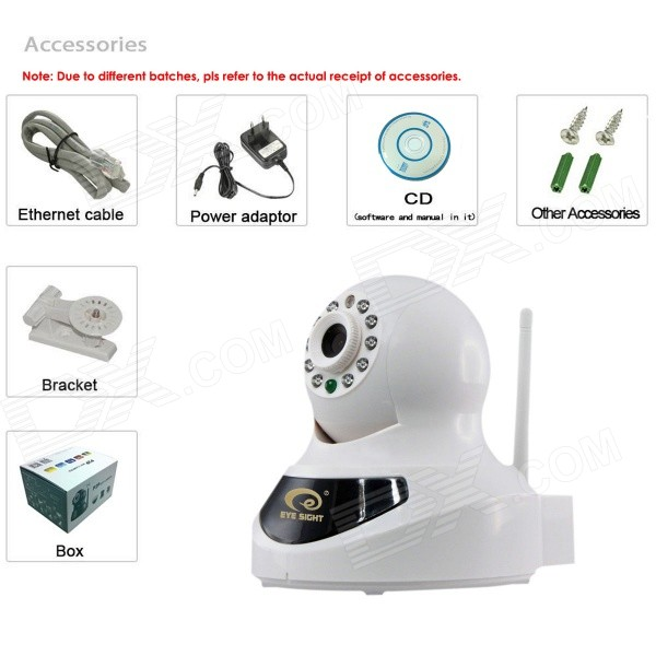 Eye Sight ES-IP601IW 1/4 CMOS 0.3MP HD Indoor IP Camera w/ 10-IR-LED / Wi-Fi - Black + White a decision support tool for library book inventory management