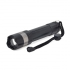 MT-29T Cree XM-L T6 600lm 3-Mode White Zooming Flashlight w/ Red Laser - Black (1 x 18650 / 3 x AAA)