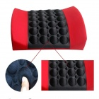 Car Electric Massage Cushion / Lumbar Posture Support Cushion / Pillow - Red + Black