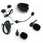 TWP-1200 Bluetooth Interphone Auricular para la motocicleta / Casco de esquí - Negro (1200m)