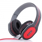 Ditmo 3.5mm Adjustable Foldable Headband Noise Canceling Stereo Headphone - Black