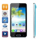 "LKD F5 Android 4.2.2 Quad-core WCDMA Bar Phone w/ 4.5""  Screen, Wi-Fi and GPS - Black + Blue"