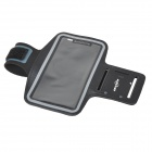 SUNSHINE Velcro Tape Nylon + PVC Armband Bag for Sony Xperia Z2 -Black