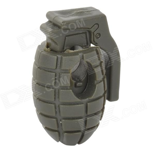 K207 Grenade Style Anti-slip Shoe Fastener / Parachute Cord Buckle - Army Green