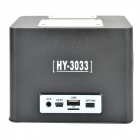 HY HY-3033 3W Touch høyttaler med Mini USB / USB 2.0 / 3,5 mm / TF / FM - svart