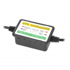 5V 1.5A Mini USB Cavo di alimentazione w / Low-Voltage Protection per l'automobile DVR / GPS - Nero (11 ~ 36V)
