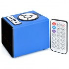 HY HY-3034 3W Touch Speaker w/ Mini USB / USB 2.0 / 3.5mm / TF / FM - Sky Blue