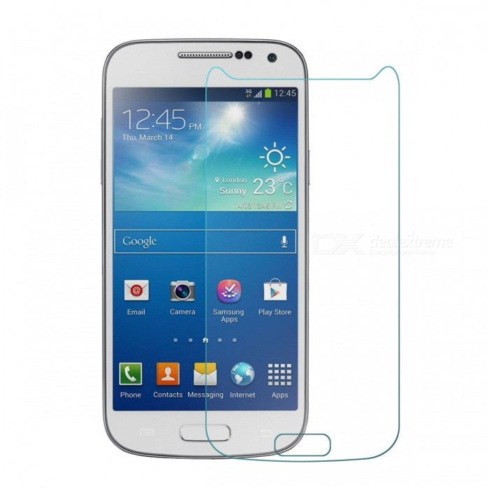 Mr.northjoe 0.3mm 9H getemperd glas Screen Protector voor Samsung Galaxy S4 Mini - transparant