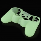 Glow-in-the-Dark protezione Custodia in Silicone per PS3 / PS3 Slim Controller - verde