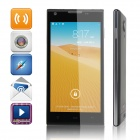"K4 Quad-Core Android 4.2.2 WCDMA Bar Phone w/ 5.0"" QHD, GPS and Wi-Fi - Black"