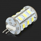 G4 5W 300lm 24-SMD 5730 LED Cold White Light Lamp (DC 12V)