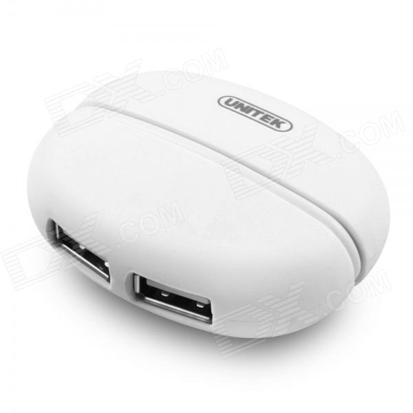 UNITEK Y-2159 High-speed USB 2.0 4-Port Hub / Expansion Splitter - White