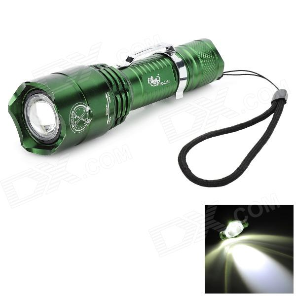 Pange 5-Mode Rotate Zooming 700LM White 400M Range LED Flashlight (1 x 18650)